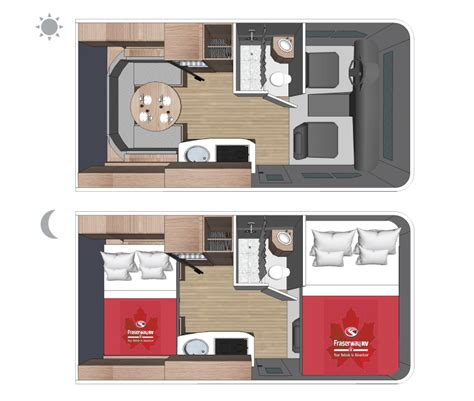 small class c rv floor plans rentals c small motorhome fraserway rv