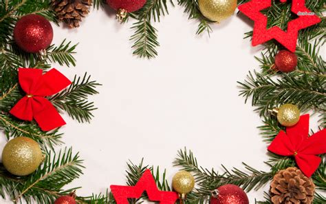 Christmas Border Wallpaper
