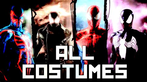 spider man shattered dimensions  suitscostumes youtube