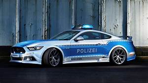 Ford Mustang police car is latest 'Tune It! Safe!' project in Germany   PerformanceDrive
