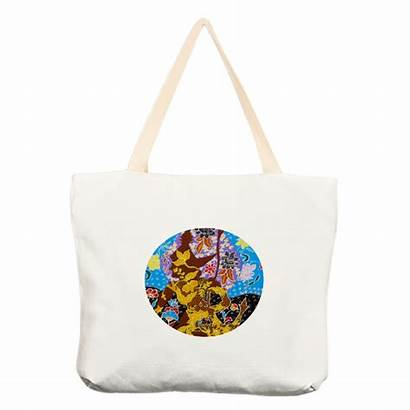 Tote Bag Canvas Kulit Wayang Market Bags