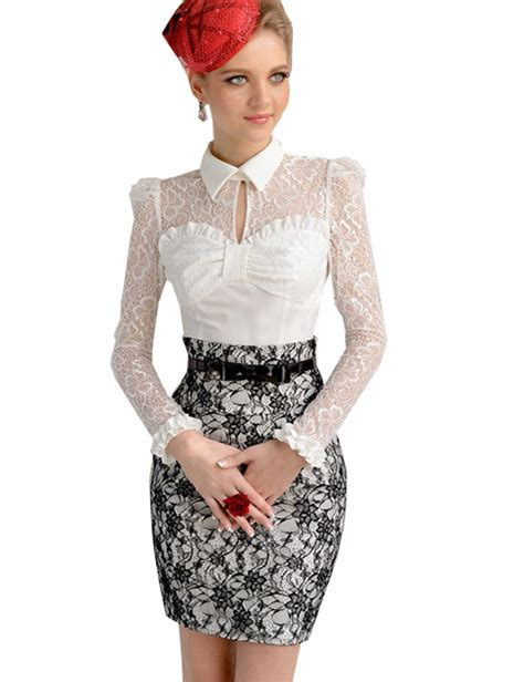 womens lace tops blouses white lace sheer blouse tops prettyguide