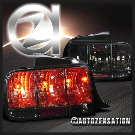 05 mustang sequential tail lights 05 09 ford mustang smoke integrate sequential turn signal