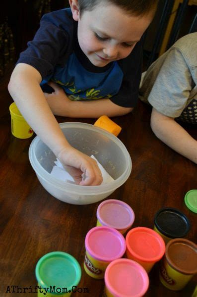 easy play doh games  kids shape