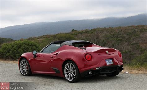 2016 Alfa Romeo 4C Spider Review (With Video)
