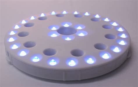 coaster light w 30 leds for lighting centerpieces vases