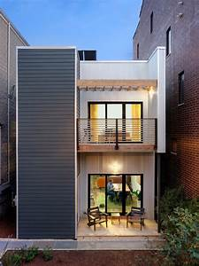 Collection: 50 Beautiful Narrow House Design for a 2 Story ...