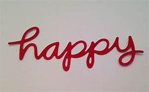 Let's Make A Card!: Amuse Studio Happy Word Die  Happy
