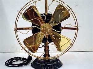 1902 general electric 12 quot antique desk fan