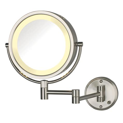 zadro 14 50 in l x 11 5 in w led lighted wall mirror in