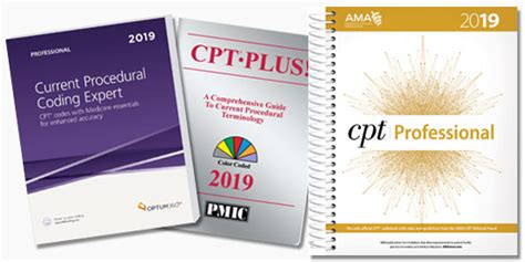 2019 Cpt, Hcpcs, And Icd-10 Code Books