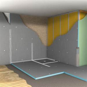 étanchéité Salle De Bain : panneau en polystyr ne extrud pour l 39 am nagement de salle ~ Edinachiropracticcenter.com Idées de Décoration