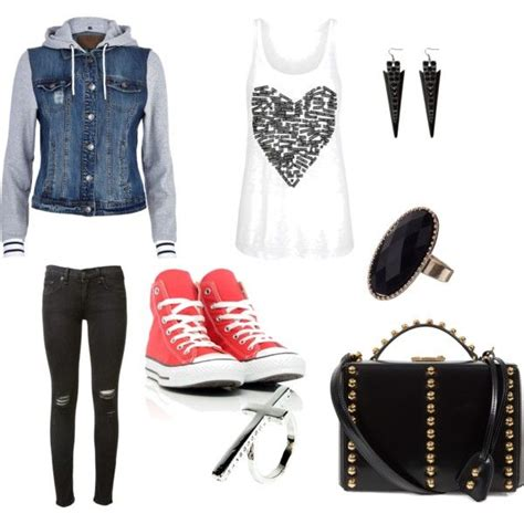 Edgy outfit | Clothes Shoes and Jewelry | Pinterest | Polyvore Clothes and Dream closets