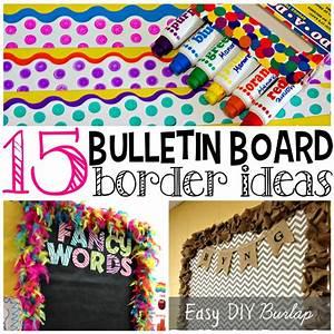 Creative Bulletin Board Borders for the Classroom - Crafty