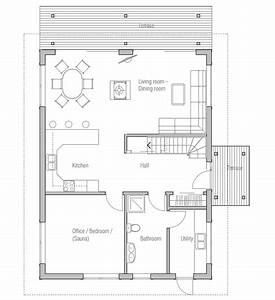 Small, House, Plan, Ch20, Floor, Plans, 3d, Images, And, Building