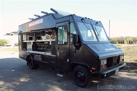 burger food truck review and photos irvine ca eatosaurus rex