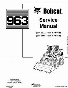 Bobcat 963 Skid