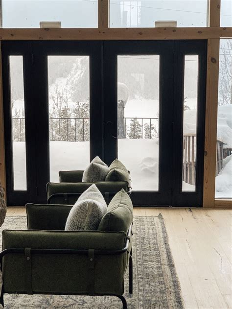Living Room External Doors by Painting The Inside Of Exterior Doors Black Is Practically