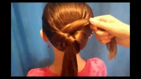 very easy hairstyles for medium hair youtube