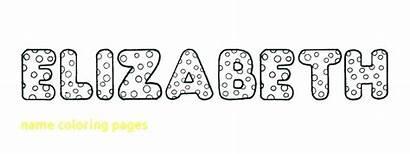 Coloring Bubble Pages Letter Names Printable Graffiti