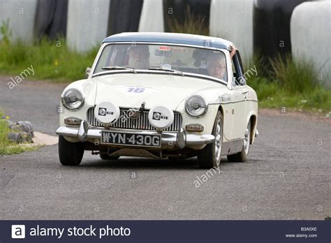 1969 Mg Midget Classic Vehicle Autotest Rally Knockhill ...