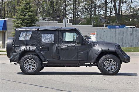 2018 Jeep Wrangler (jl) Spied, Shows New Hardware