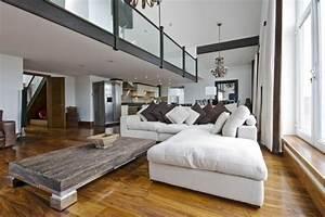 Wohnzimmereinrichtung Mit Klaren Linien Fr Die Komplette