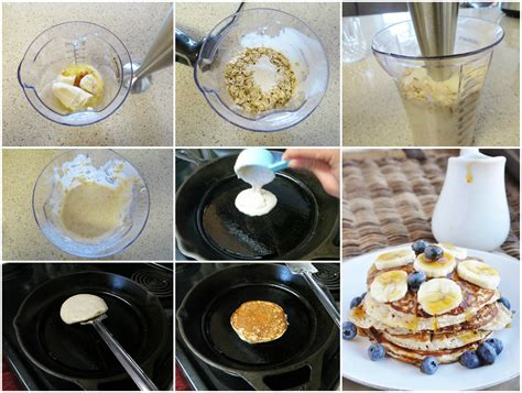 15 Minute High Protein Banana Bread Pancakes (healthy
