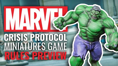 marvel crisis protocol rules preview   feel super