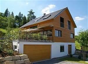 Haus Mit Büroanbau : neubau holzrahmenbau fertighaus hanglage einrichtung pinterest best architecture house ~ Markanthonyermac.com Haus und Dekorationen