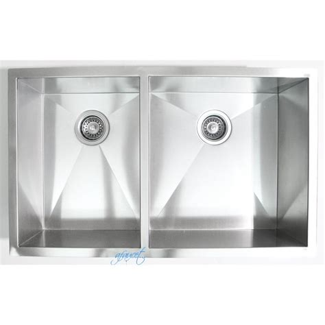 32 Inch Stainless Steel Undermount 4060 Double Bowl