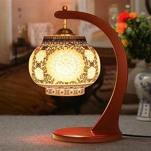 Antique, Lamp, Living, Room, Retro, Table, Lamp, Study, Table, Lamp, Old, Fashion, Ceramic, Table, Lamp