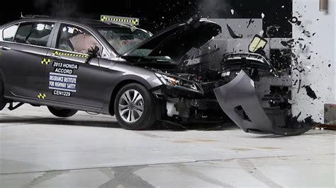honda accord crash test youtube