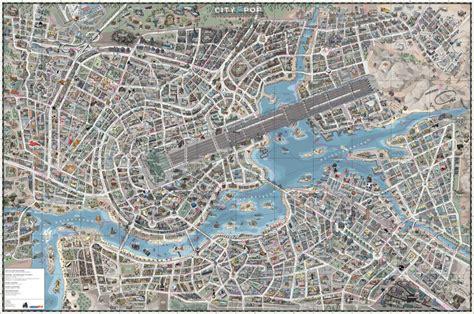 mapcarte  city  pop  designliga