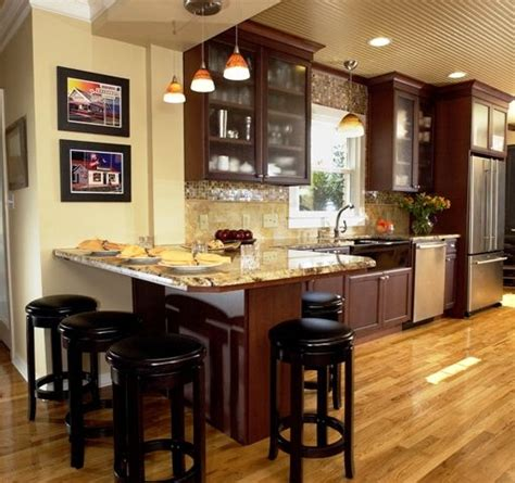 Kitchen With Both Peninsula And Island by Peninsula Seating On Both Sides Kitchens