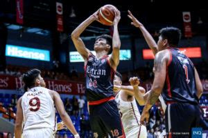 NCAA: Letran overcomes Perpetual in OT for 3rd straight ...