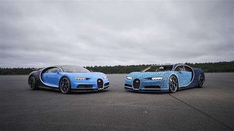 lego builds full scale bugatti chiron   drives