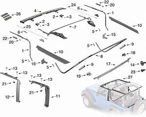 Jeep Wrangler Bumper Parts Diagram  Jeep  Free Engine Image For User Manual Download