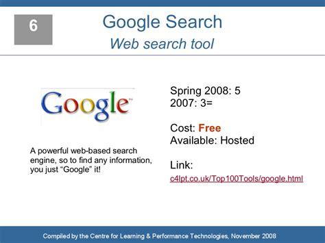 6 Google Search Web Search
