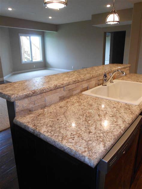 basement bar laminate countertops stacked stone