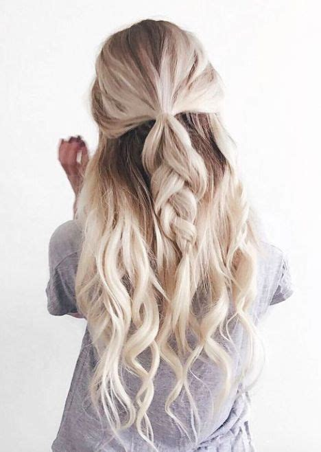 casual hairstyles ideas  pinterest casual