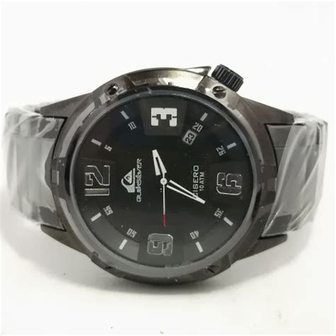 jam tangan quiksilver cisero fullblack kw