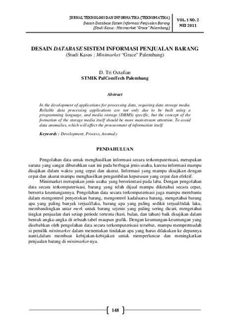 (PDF) Jurnal database | yeye l - Academia.edu
