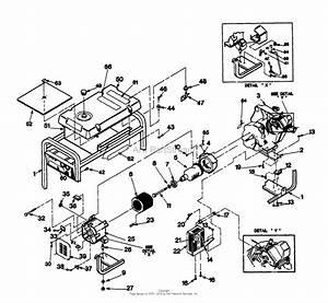Briggs And Stratton Generator Parts Diagram