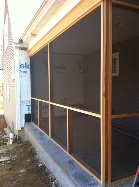 thebuilderfix a clean simple way to add a screen porch to