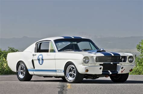 Ex-stirling Moss 1965 Shelby Gt350 Race Car To Cross The