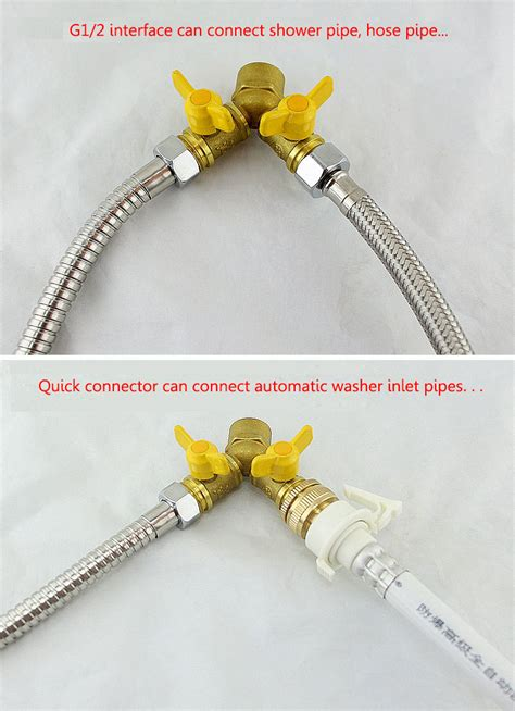 can you connect a hose to a kitchen sink 2 way garden hose splitter y valve connector outdoor 9958