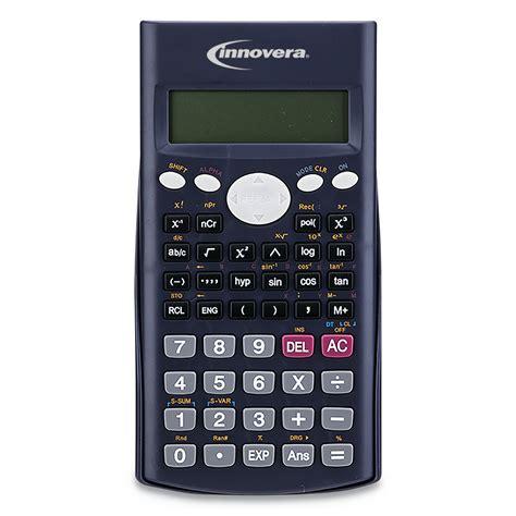 Innovera 15969 Scientific Calculator, 240 Functions, 10 ...