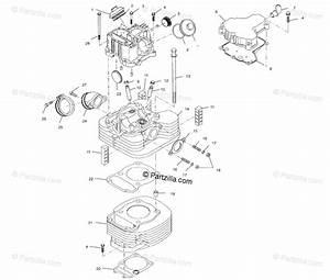 Polaris Atv 2001 Oem Parts Diagram For Cylinder