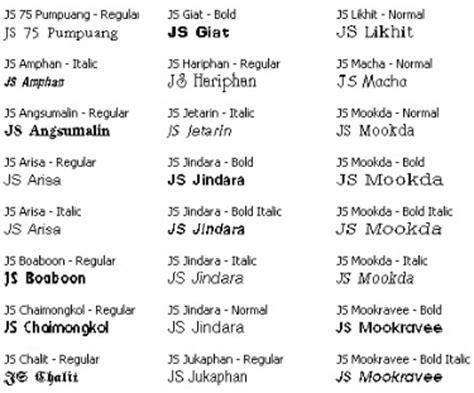 idesign school รวม free fonts ภาษาไทย ท ไม ควรพลาด